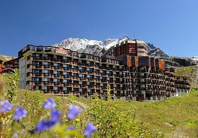 Location au ski Residence Tourotel - Val Thorens - Extérieur été