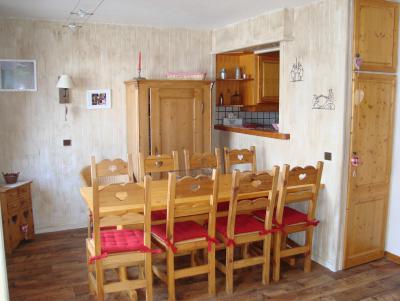 Vacances en montagne Appartement duplex 4 pièces 9 personnes (052) - Résidence Trompe l'Oeil - Montchavin La Plagne - Table