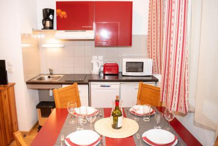 Wakacje w górach Apartament 2 pokojowy 4 osób (wyposażone w PMR) (01) - Résidence Val de Jade - Luchon-Superbagnères