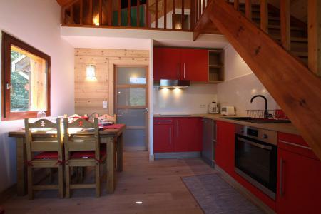 Vacances en montagne Appartement 3 pièces mezzanine 6 personnes (VAL03C) - Résidence Valérianes - Pelvoux - Séjour