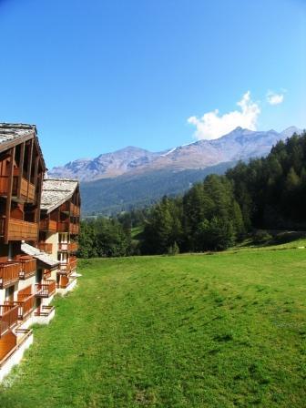Location au ski Appartement 2 pièces 4 personnes (24) - Residence Valmonts - Val Cenis - Extérieur été
