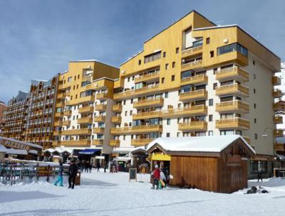 Vakantie in de bergen Studio 2 personen (164) - Résidence Vanoise - Val Thorens - Woonkamer