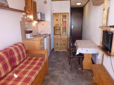 Vacances en montagne Studio 2 personnes (158) - Résidence Vanoise - Val Thorens - Banquette-lit