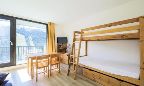 Wakacje w górach Studio 4 osoby (Confort 25m²-8) - Résidence Véga - Maeva Home - Flaine - Pokój gościnny