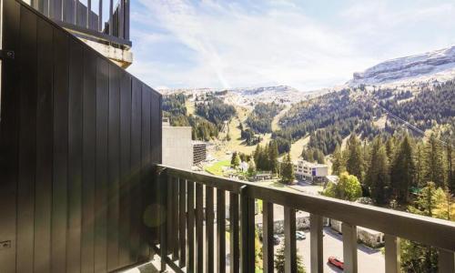 Wakacje w górach Studio 4 osoby (Confort 25m²-8) - Résidence Véga - Maeva Home - Flaine - Na zewnątrz latem