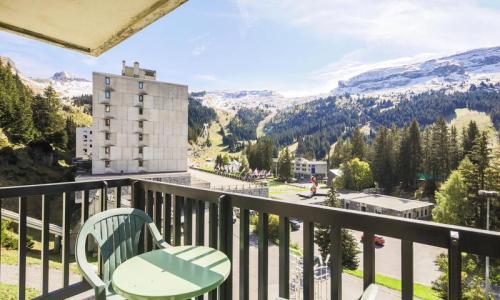 Wakacje w górach Studio 4 osoby (Confort 26m²-4) - Résidence Véga - Maeva Home - Flaine - Na zewnątrz latem