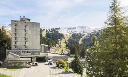 Wakacje w górach Studio 4 osoby (Budget 23m²-2) - Résidence Véga - Maeva Home - Flaine - Na zewnątrz latem