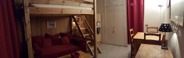 Vacances en montagne Studio 4 personnes (84) - Résidence Véga - Flaine - Logement