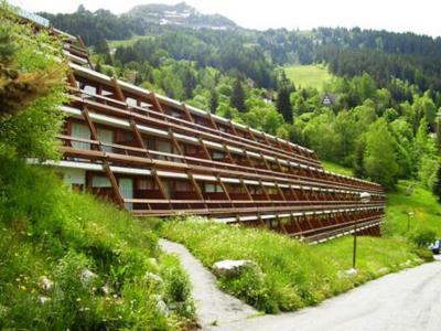 Vacances en montagne Résidence Versant Sud - Les Arcs - Extérieur été