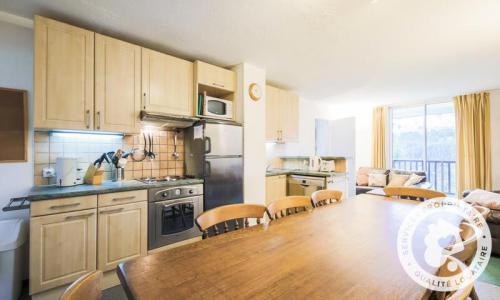 Location au ski Appartement 3 pièces 8 personnes (Confort 59m²-2) - Résidence Verseau - Maeva Home - Flaine - Kitchenette
