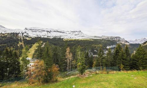 Location au ski Appartement 2 pièces 6 personnes (Confort 37m²) - Résidence Verseau - Maeva Home - Flaine - Extérieur été