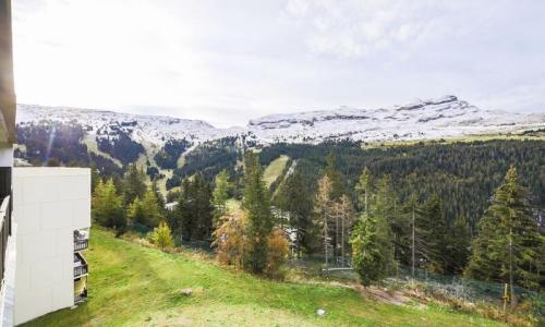 Location au ski Studio 4 personnes (Budget 26m²-3) - Résidence Verseau - Maeva Home - Flaine - Extérieur été