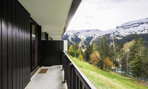 Location au ski Studio 4 personnes (Confort 26m²-2) - Résidence Verseau - Maeva Home - Flaine - Extérieur été