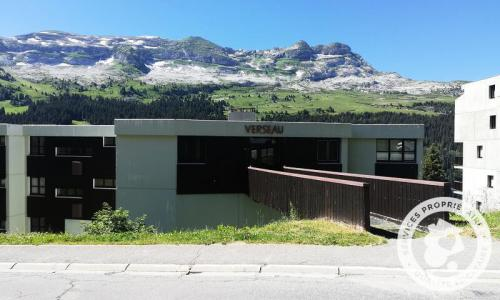 Location au ski Résidence Verseau - Maeva Home - Flaine - Extérieur été
