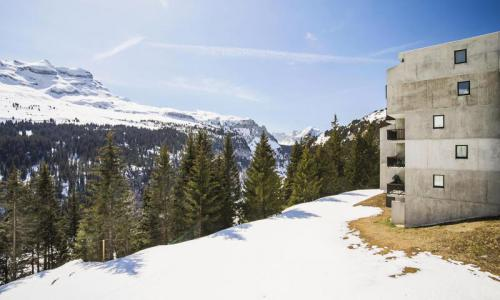 Wakacje w górach Studio kabina 4 osoby (Confort 26m²-2) - Résidence Verseau - Maeva Particuliers - Flaine