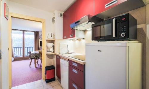 Wakacje w górach Apartament 2 pokojowy kabina 6 osób (Confort 37m²-0) - Résidence Verseau - Maeva Particuliers - Flaine - Aneks kuchenny