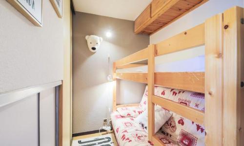 Wakacje w górach Studio kabina 4 osoby (Sélection 26m²-2) - Résidence Verseau - Maeva Particuliers - Flaine - Łóżkami piętrowymi