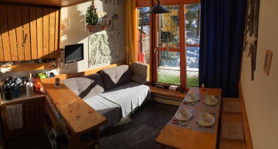 Vacances en montagne Studio mezzanine 5 personnes (308) - Résidence Vogel - Les Arcs - Séjour