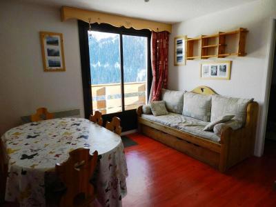 Holiday in mountain resort Résidences le Pleynet les 7 Laux - Les 7 Laux - Living room