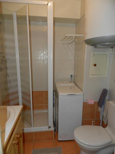 Holiday in mountain resort Studio 3 people (standard) - Résidences le Pleynet les 7 Laux - Les 7 Laux - Shower room