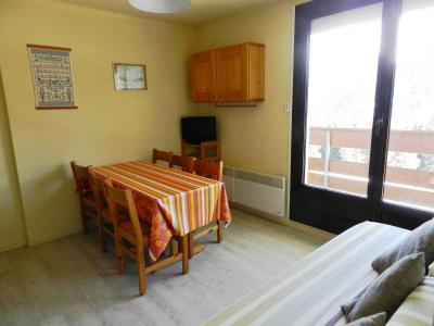 Holiday in mountain resort Studio cabin 4 people (standard) - Résidences le Pleynet les 7 Laux - Les 7 Laux - Dining area