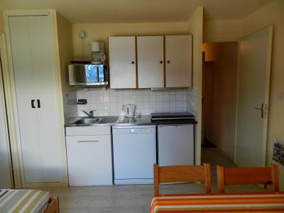 Holiday in mountain resort Studio cabin 4 people (standard) - Résidences le Pleynet les 7 Laux - Les 7 Laux - Kitchen