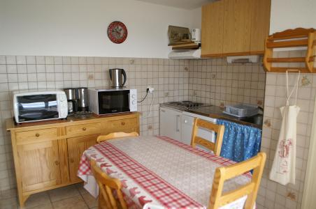 Urlaub in den Bergen 2-Zimmer-Holzhütte für 6 Personen (Standard) - Résidences Prapoutel les 7 Laux - Les 7 Laux - Esszimmer