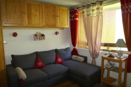 Urlaub in den Bergen Studio Kabine für 4 Personen (Standard) - Résidences Prapoutel les 7 Laux - Les 7 Laux - Wohnzimmer