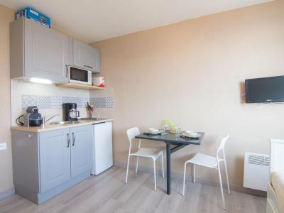 Vakantie in de bergen Appartement 1 kamers 2 personen (82) - Vostok Zodiaque - Le Corbier