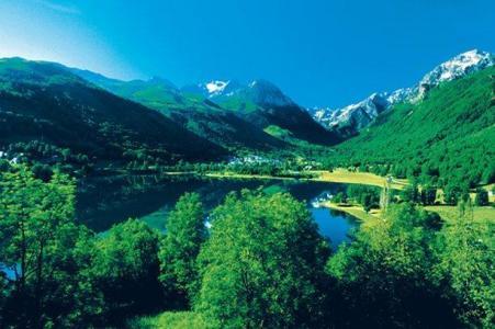 Location au ski Vvf Villages L'auregon - Saint Lary Soulan - Extérieur été
