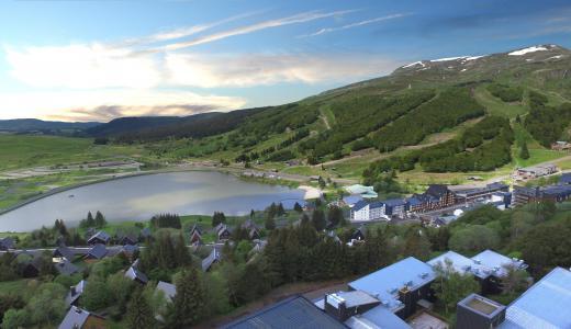 Location au ski VVF Villages le Montferrand - Super Besse - Extérieur été