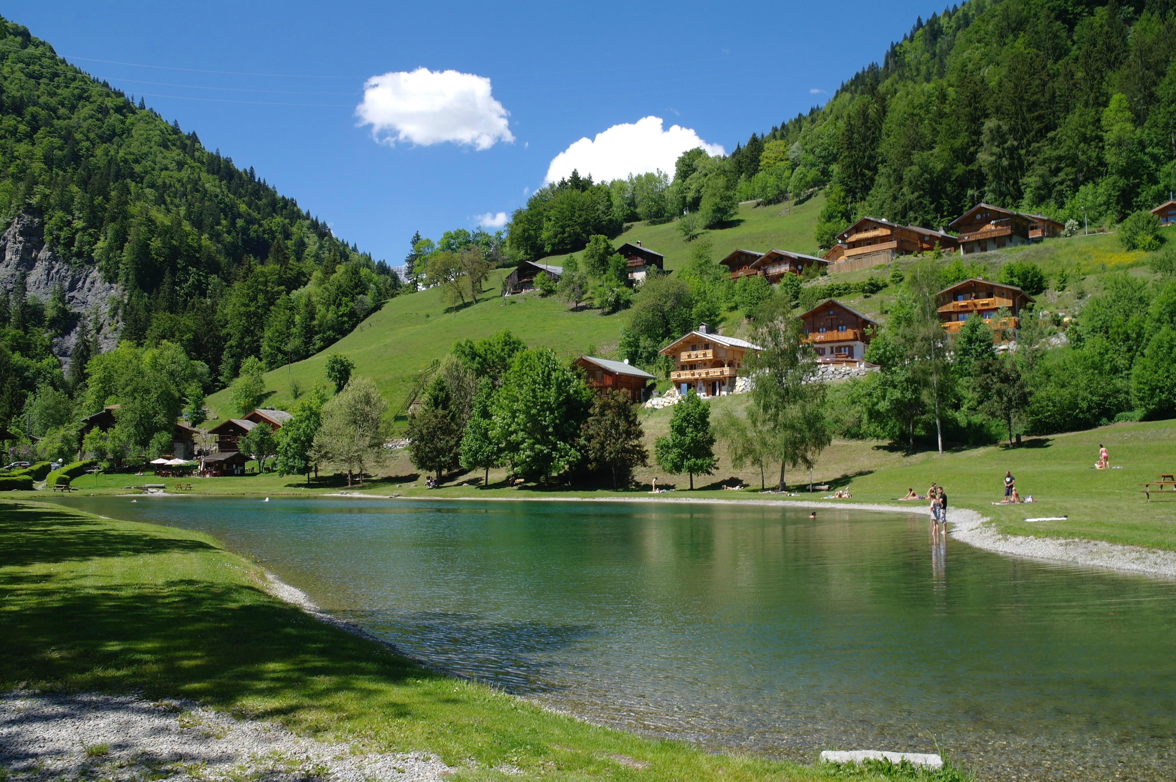 mountain vacation Flumet